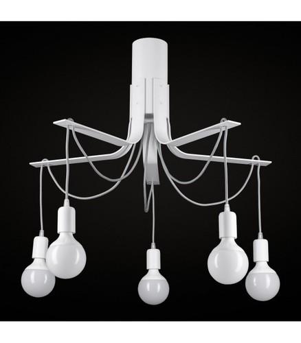 BORNHOLM Small white ceiling lamp