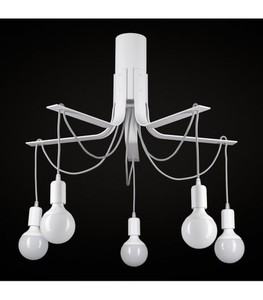 BORNHOLM Small white ceiling lamp small 0