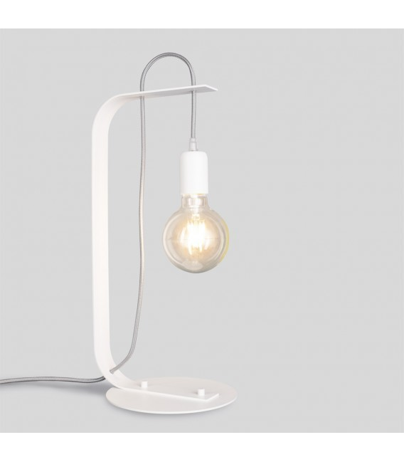BORNHOLM Desk lamp white