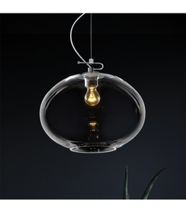 DONUT Transparent chandelier small 1
