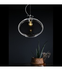 DONUT Transparent chandelier small 2
