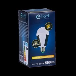 7W Solar Bulb E27 small 8