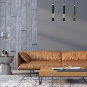 Hanging lamp Dallas Gold 3x Gu10 Strip small 4