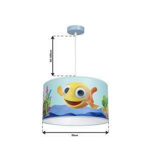 Hanging Lamp Fish Mini 1x E27 small 10