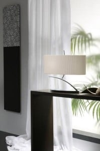 White table lamp Blanca small 0