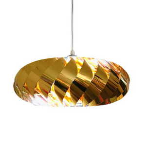 Jet hanging gold small 0