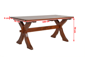 Large Wooden Table small 1