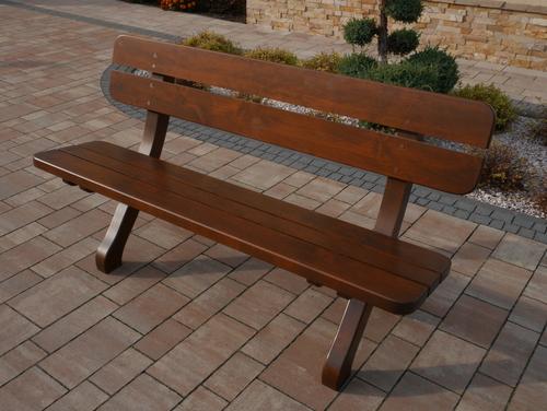 Wooden bench 110 cm