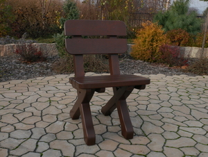 Wooden chair small 1