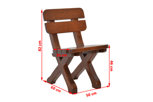 Wooden chair small 2