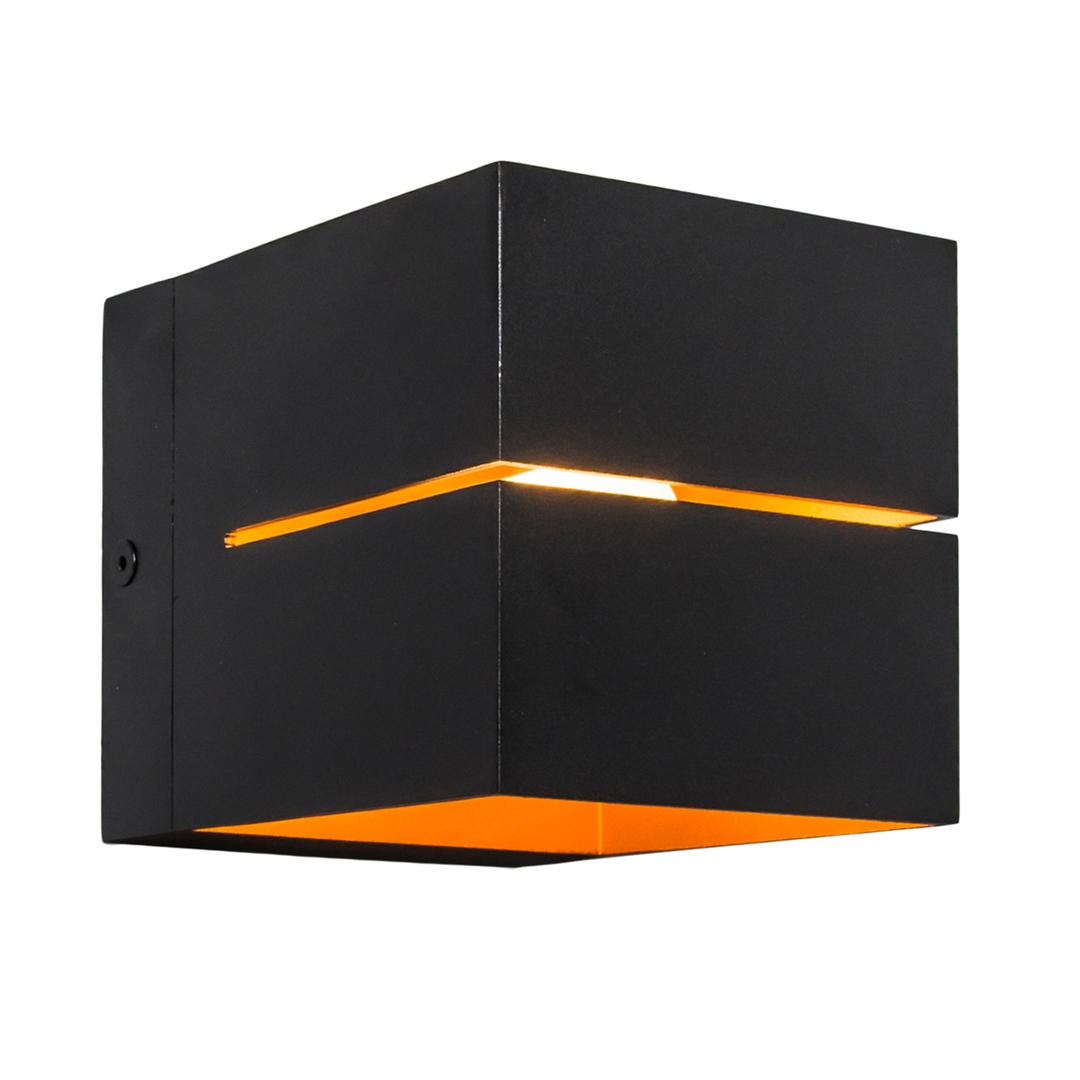 91067 Transfer Wl 2 Wall Lamp Black + Gold / Black + Gold