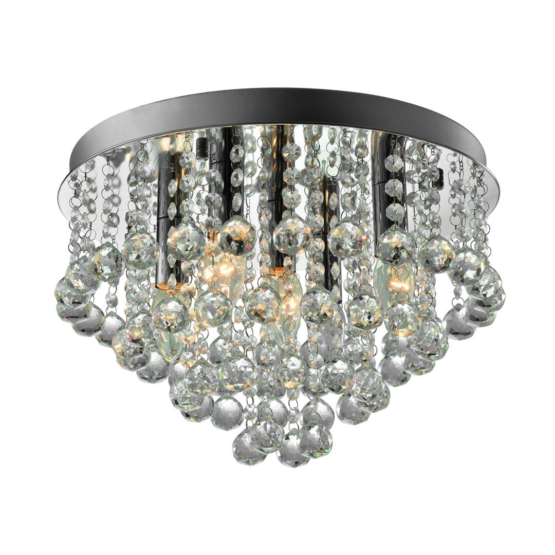 Rlx94874 5 Alex Ceiling Lamp Silver / Silver