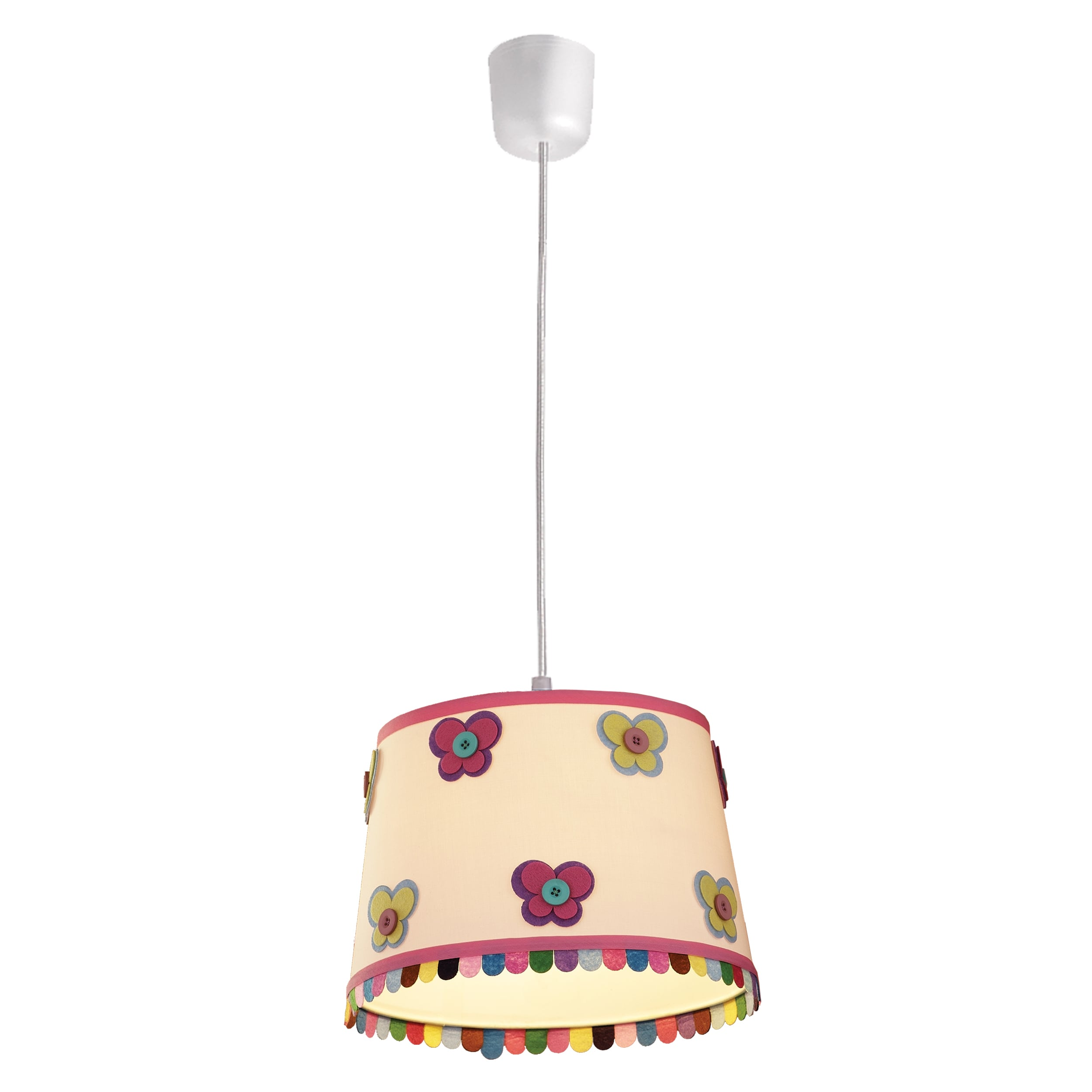 Hanging lamp for a child. Butterfly Lampshade