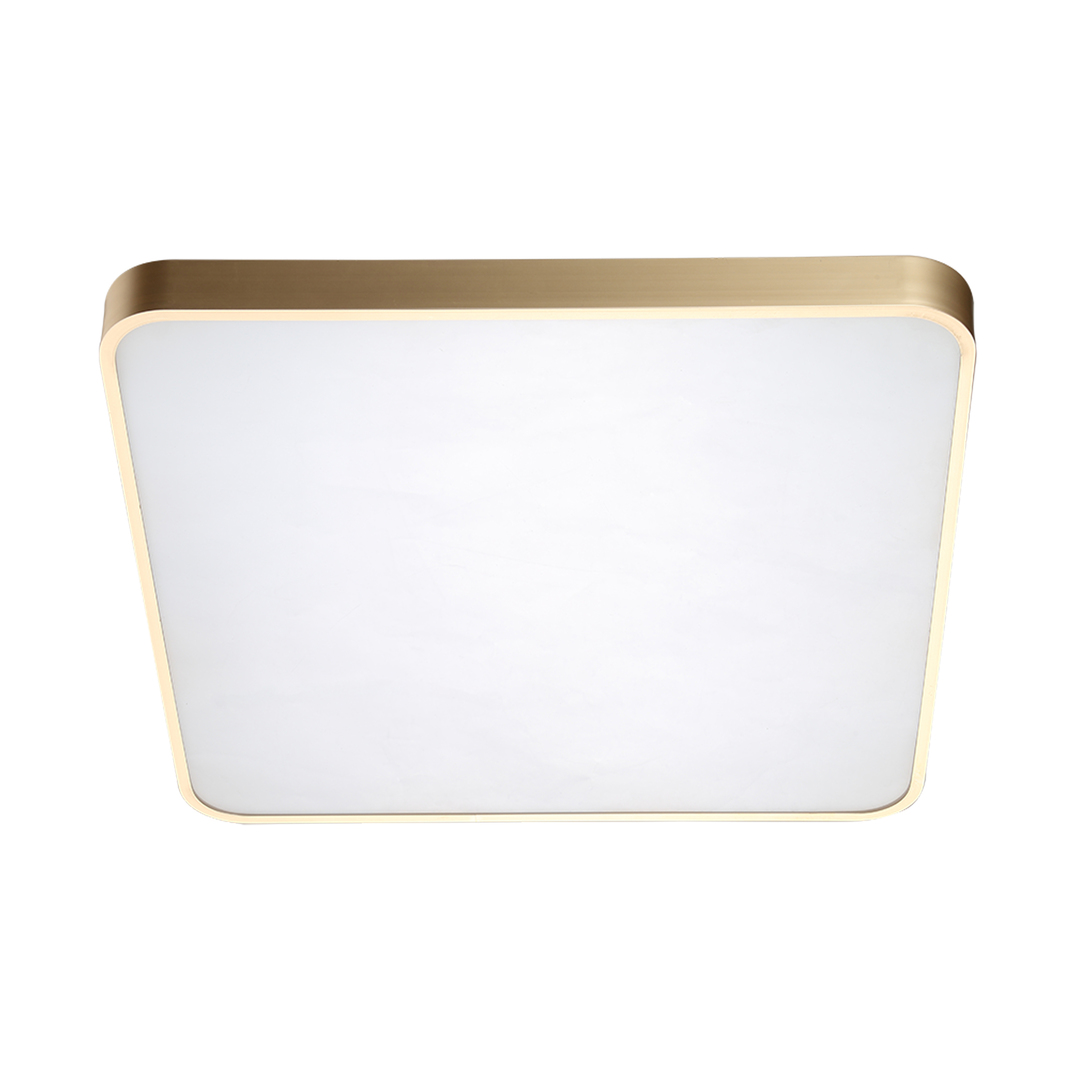 12100005 Gd Sierra Ceiling Lamp Gold / Gold