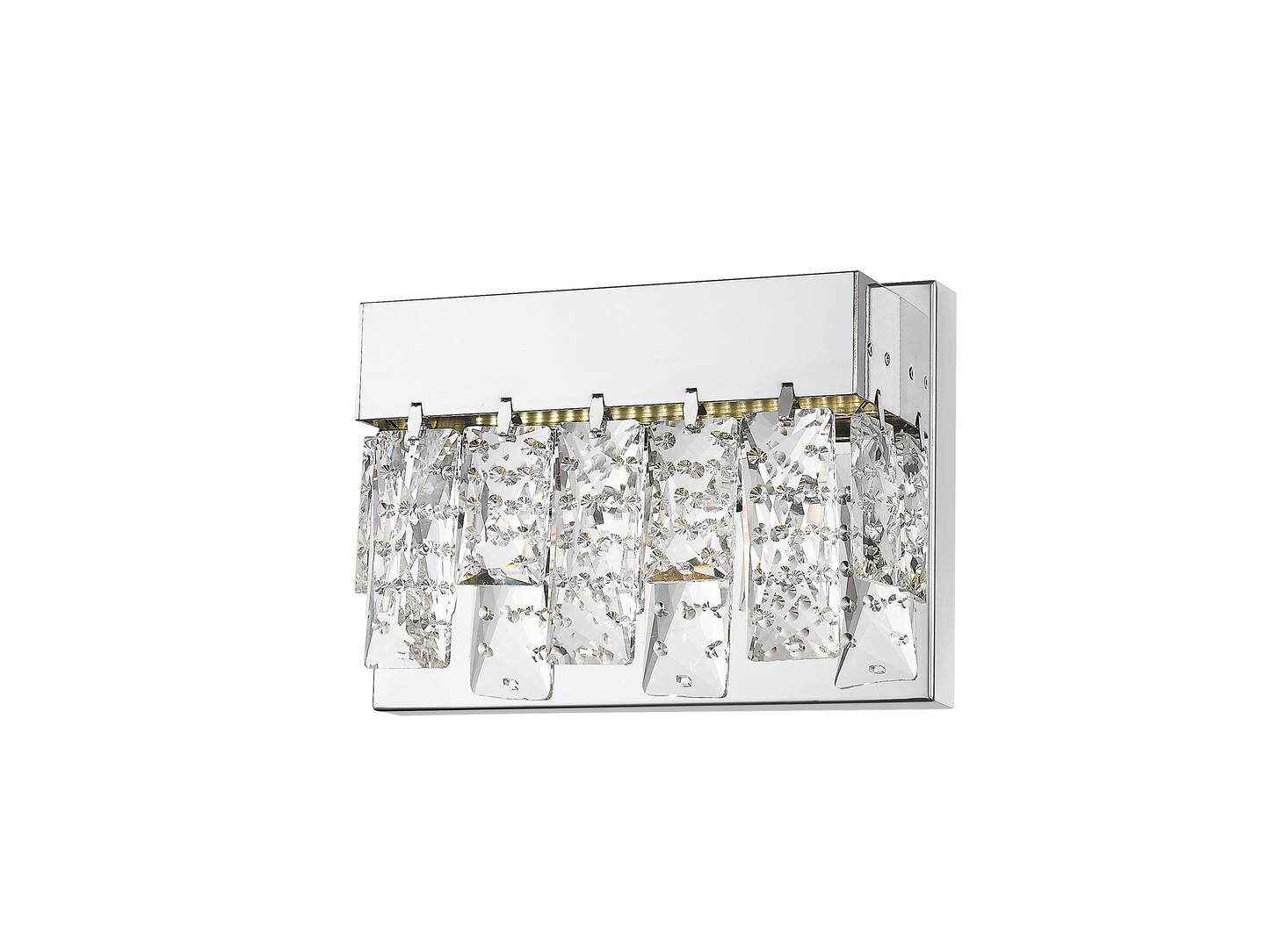 W0476 01 A B5 Ac Spark Wall Lamp Chrome