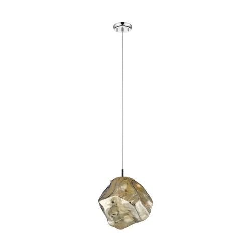 P0488 01 A F4 Hf Rock Pendant Lamp Gold / Gold