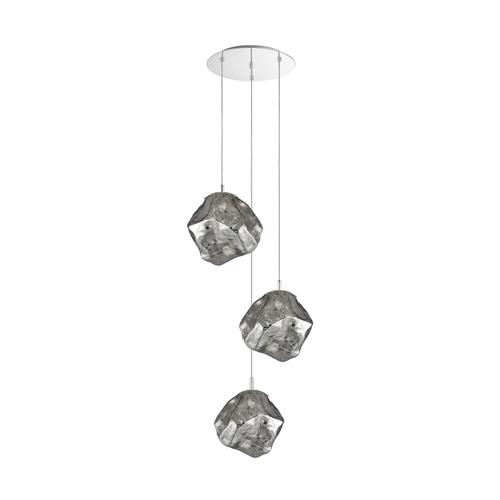 P0488 03 A B5 Fz Rock Pendant Lamp Chrome