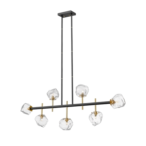 P0488 07 T Seac Rock Pendant Lamp Black Mat Gold Mat / Matt Black Matt Gold
