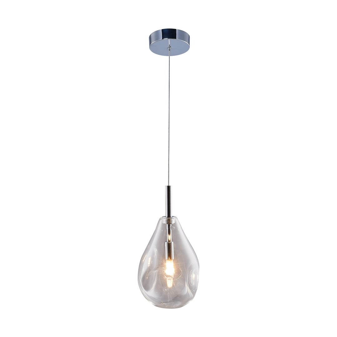 Md1921 1 Clear Bastoni Chrome Pendant Lamp