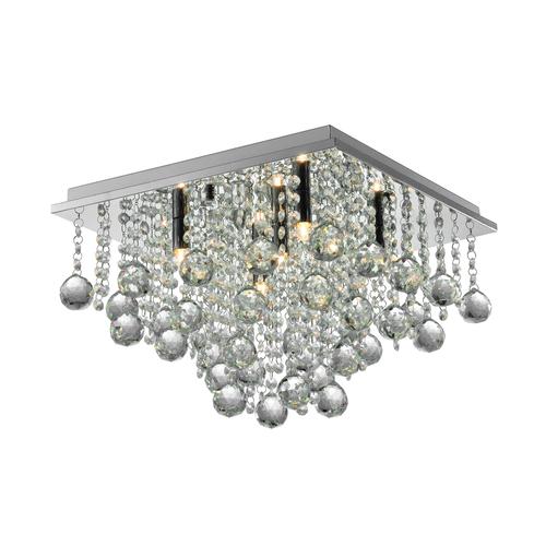 Rlx92711 5 Rangel Ceiling Lamp Silver / Silver