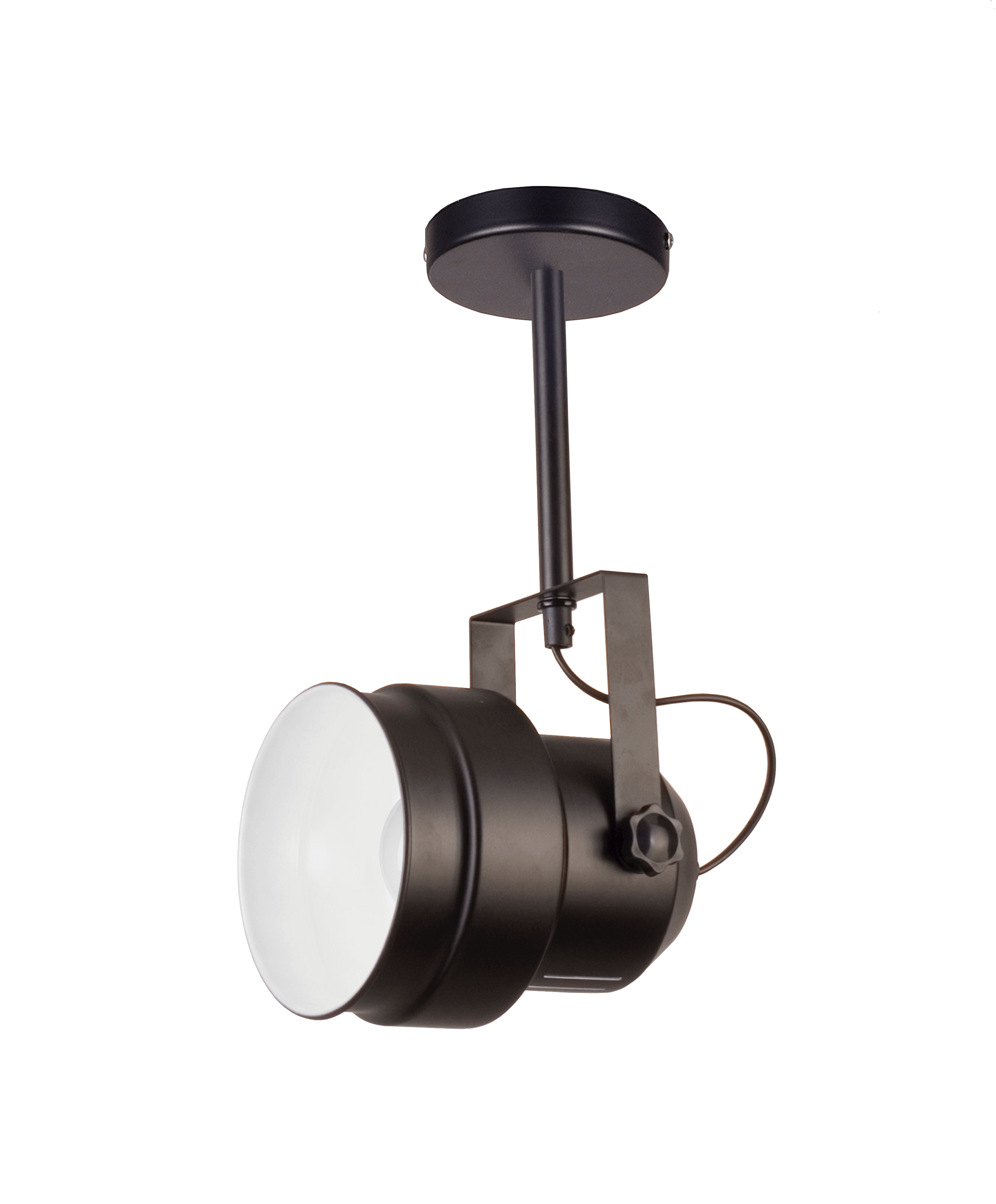 A single wall lamp in the loft style Forano 1