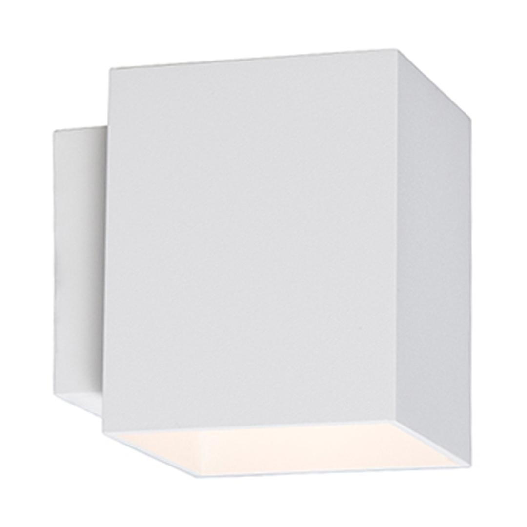 91062 Sola Wl Square Wall Lamp White / White