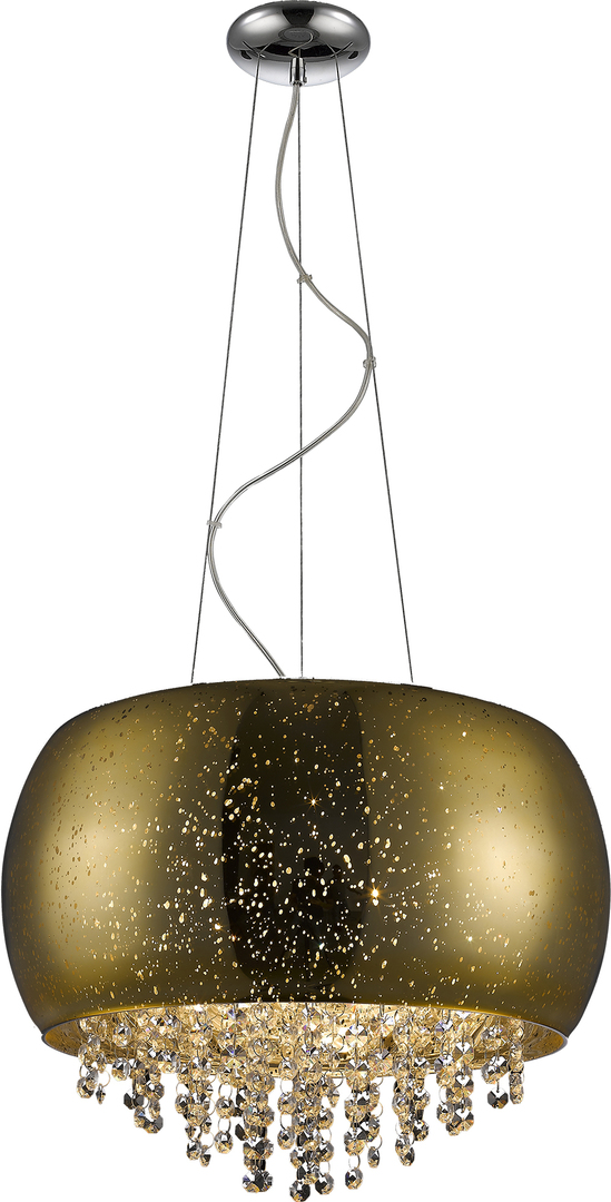P0076 05K F4 Gq Vista Pendant Lamp Gold