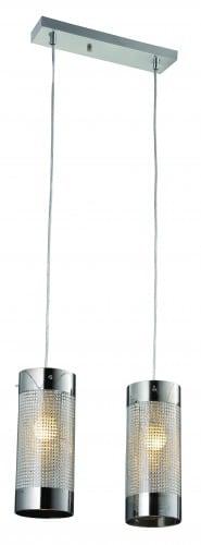 Double pendant lamp Monte glamor