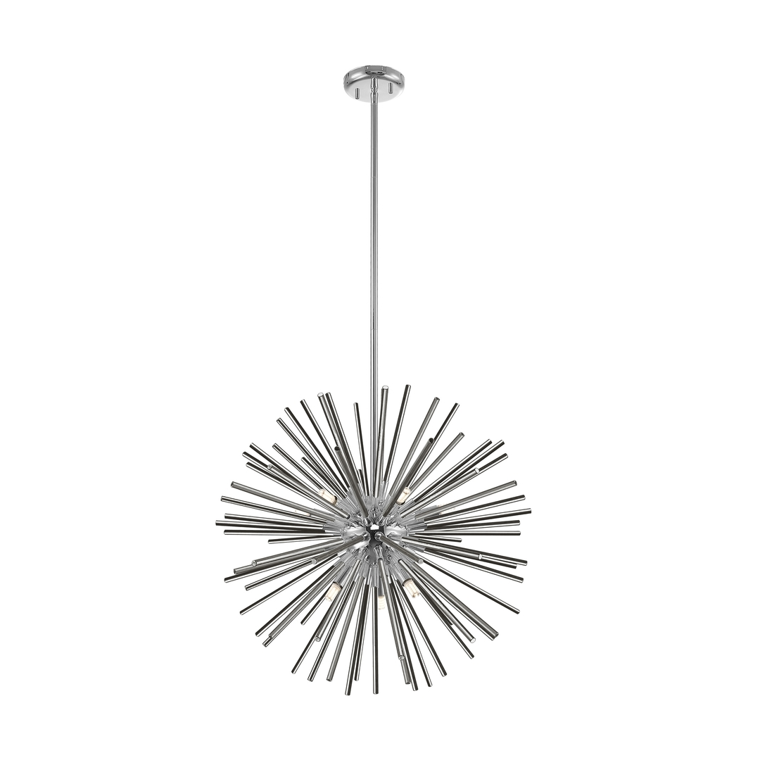 P0491 09 F F4 An Urchin Pendant Lamp Chrome