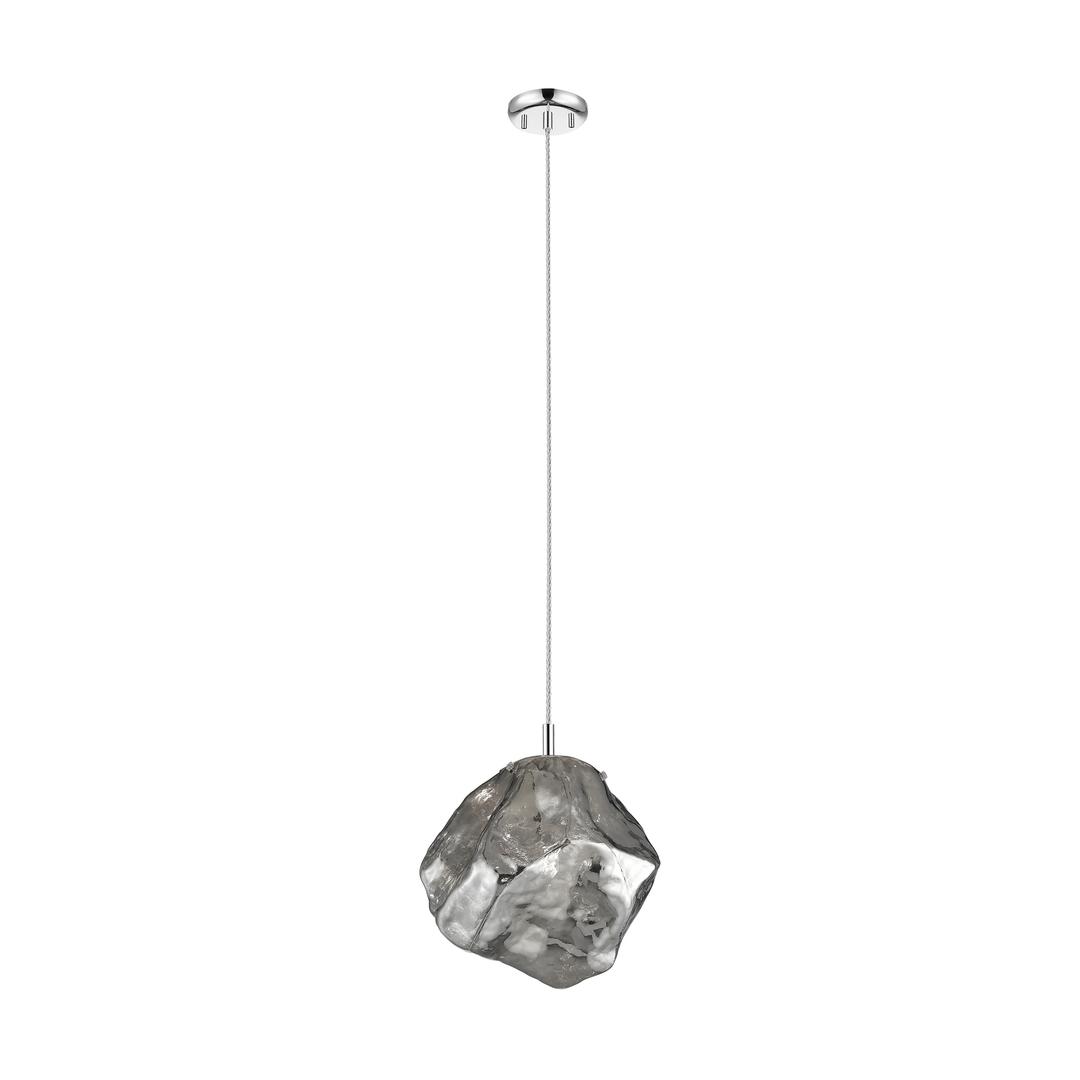 P0488 01 A F4 Fz Rock Pendant Lamp Chrome