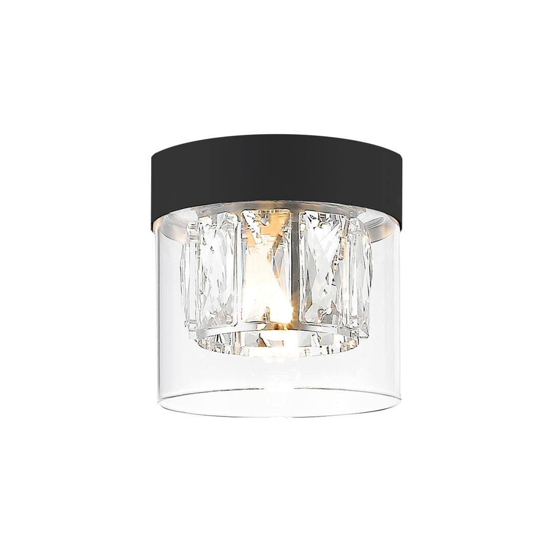 C0389 01 A P7 Ac Gem Ceiling Lamp Matte Black / Matt Black