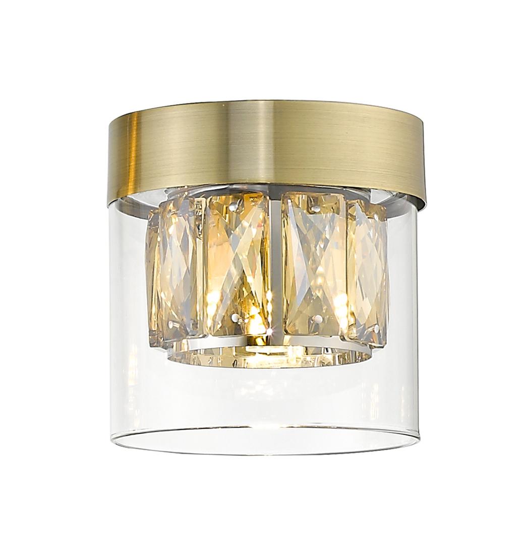 C0389 01 A 0 Fd2 Pl03 Gem Ceiling Lamp J Antique Bronze / L Antique Bronze