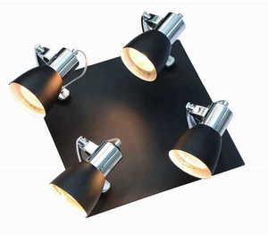 A modern single Ravenna wall lamp 1 black small 3