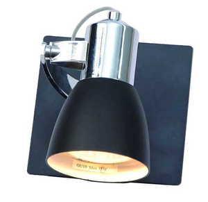 A modern single Ravenna wall lamp 1 black small 0