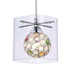 Modern sconce Spark Transparent lampshade small 8