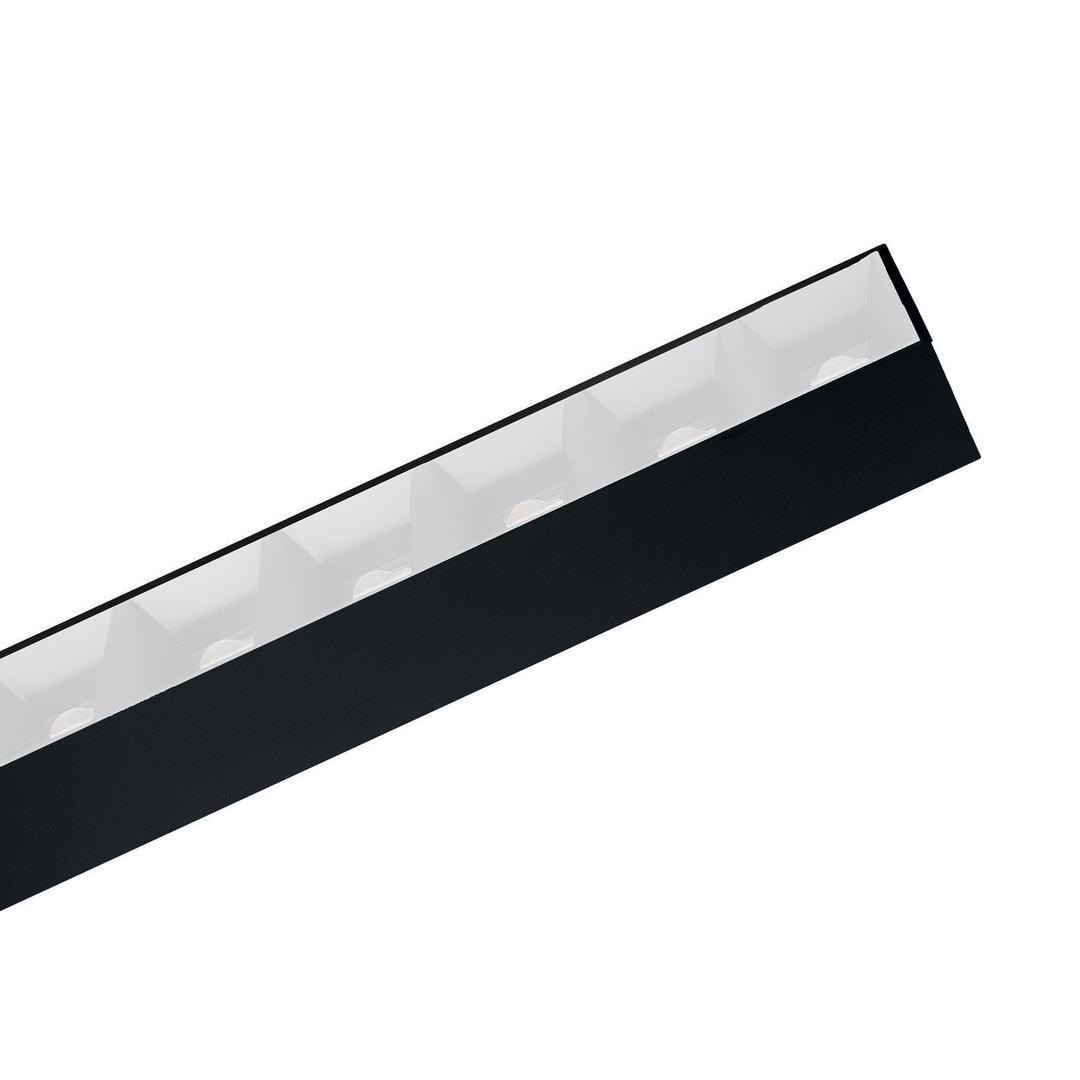 Allday Inspire One Dark Light 80st Black 830 30w 230v 112cm White Smart