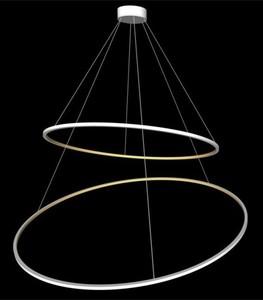 ECHO 60 + 90 Double chandelier small 1