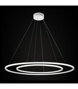 ECHO 90 + 120 Double chandelier small 0