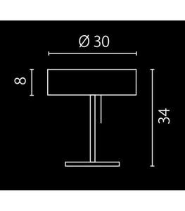 KAPRI PALISANDER study lamp small 1