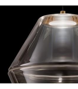 MOLINO Gold chandelier small 1