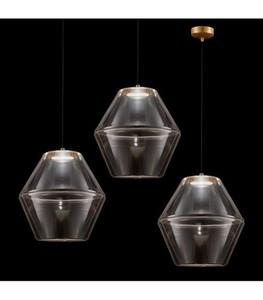 MOLINO Gold chandelier small 0