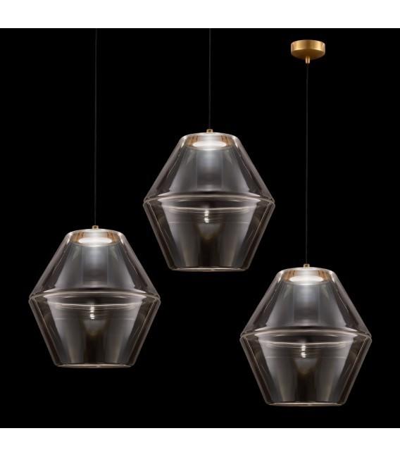 MOLINO Gold chandelier