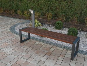 Modern Garden Bench small 0