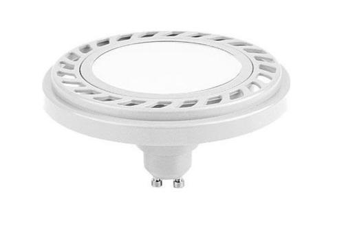 ES111 gu10 15 led bulb 8.9W 230VAC W / NW angle 120 degrees neutral white AR111 white housing LUX07012