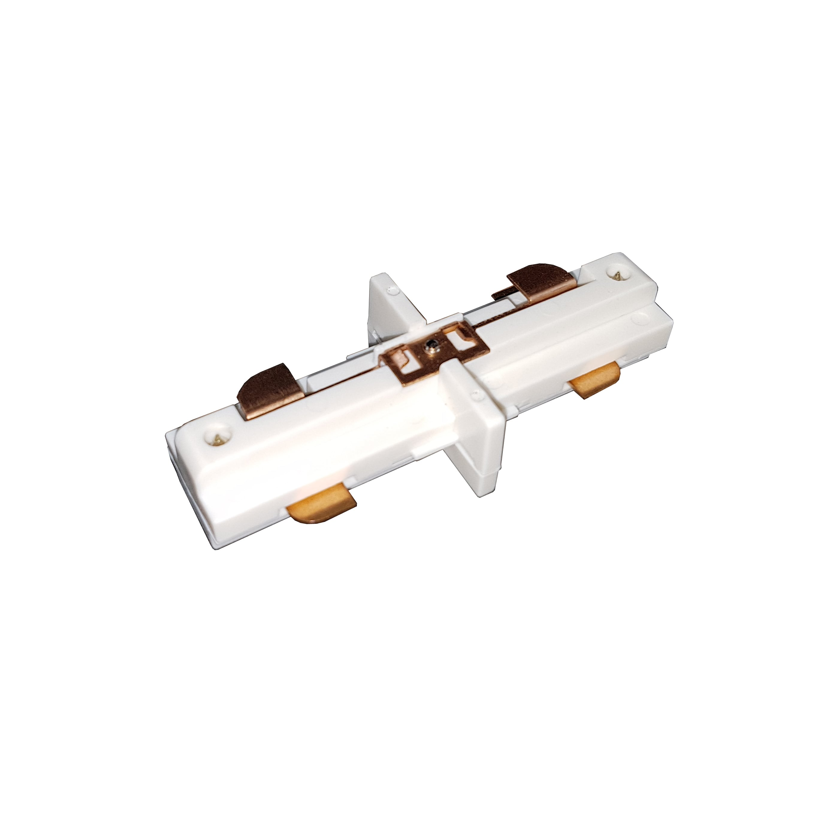 Straight linear internal white connector for Busbars