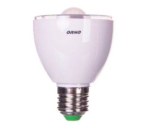 LED bulb with motion sensor / twilight sensor 5W E27 230V 3000K