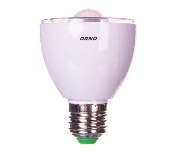 LED bulb with motion sensor / twilight sensor 5W E27 230V 3000K