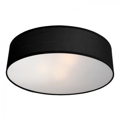 Klasyczny Plafon Alto Okrągły Czarny