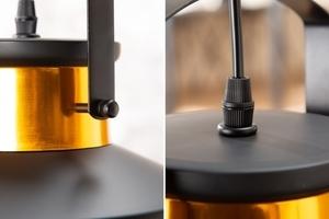 INVICTA pendant lamp LUZ I - 28 cm black and gold small 2