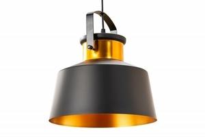 INVICTA pendant lamp LUZ I - 28 cm black and gold small 0